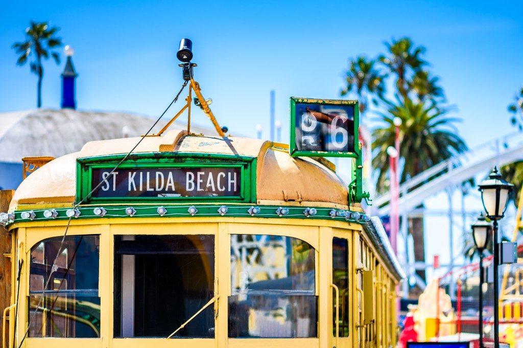 Vintage tram from Melbourne