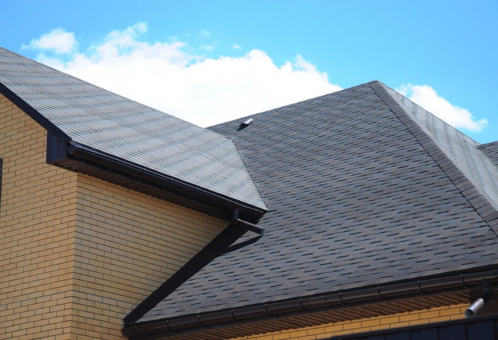 Gray roof