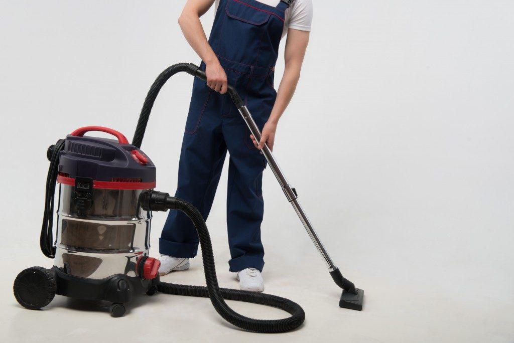 Regular vacuuming