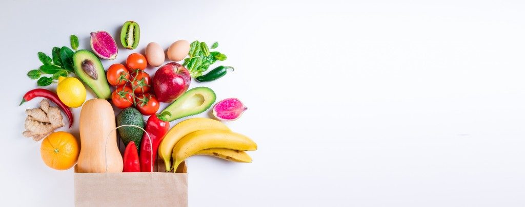 healthy foods and snacks