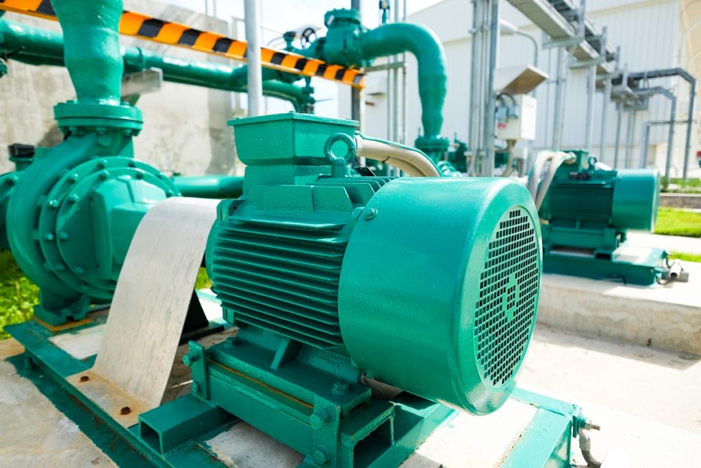 treated water centrifugal pump