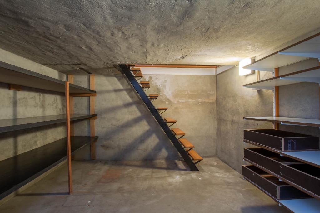 basement clean