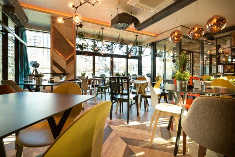 big restaurant interior