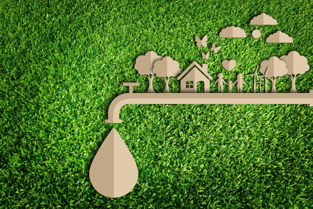 eco friendly home concept
