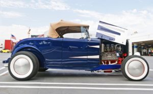 new vintage car