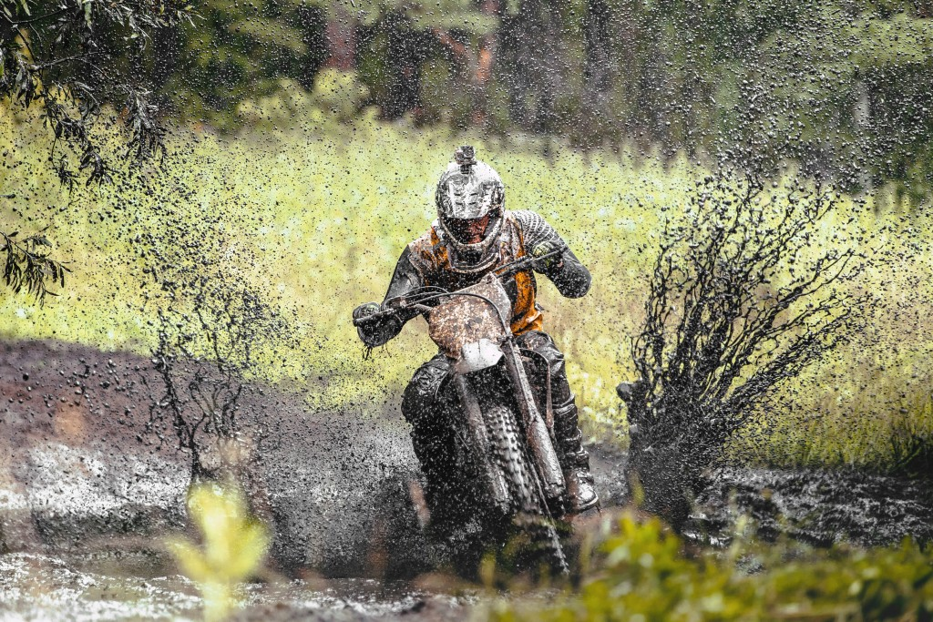 off-road motorbiking