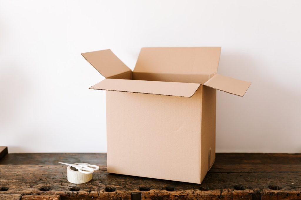 renovation and moving box